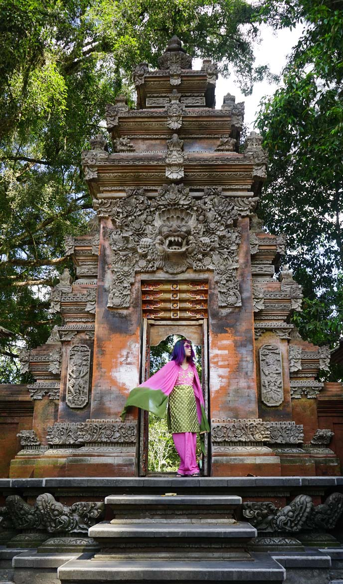 bali temple gates, altars architecture