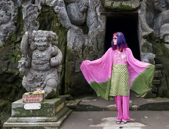 pink green sari, indian dress