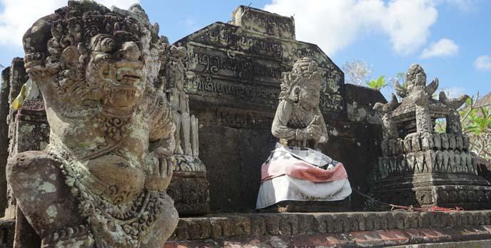 ubud buddhist temple, art