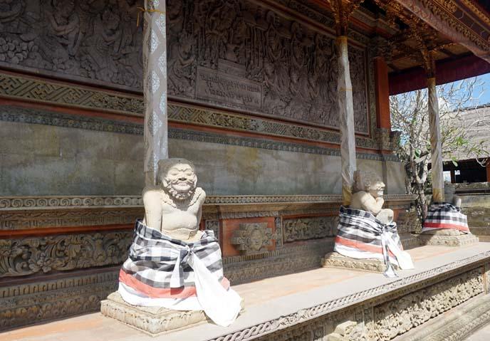 ancient bali sculptures