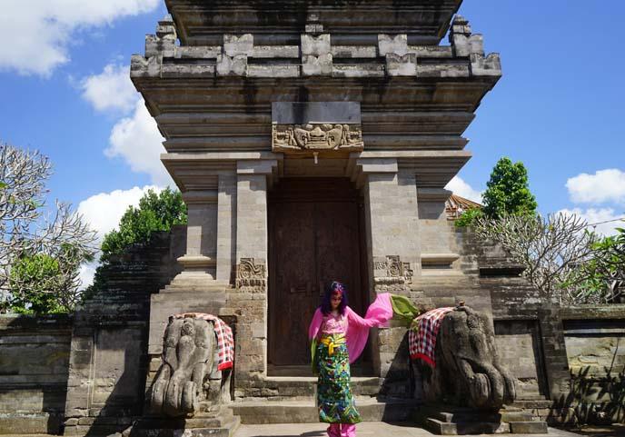 elephant statues bali ubud