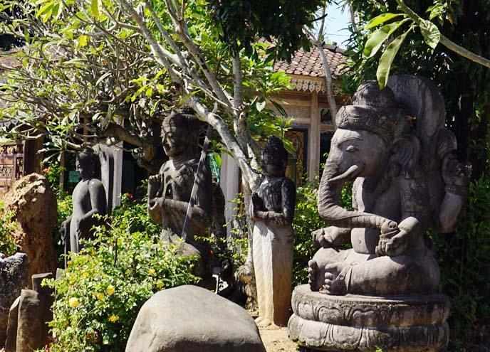 buddhist statues temples bali