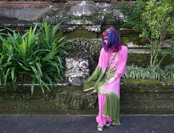 famous ubud water temple