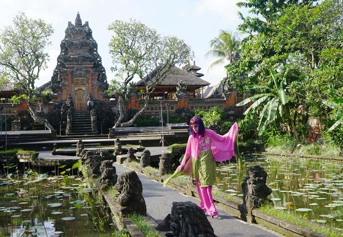 lotus water temple bali