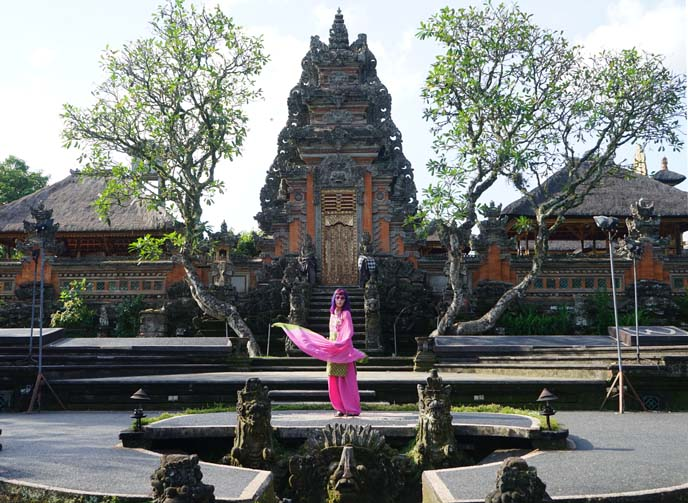 Saraswati Temple, ubud city center