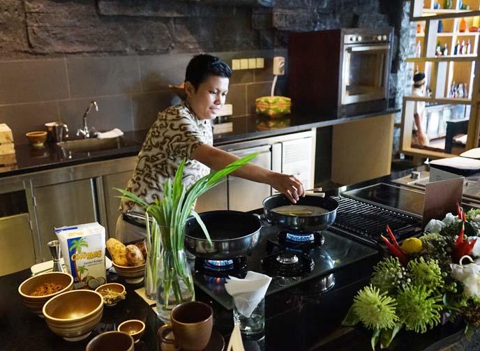 bajigur, javanese hot drink
