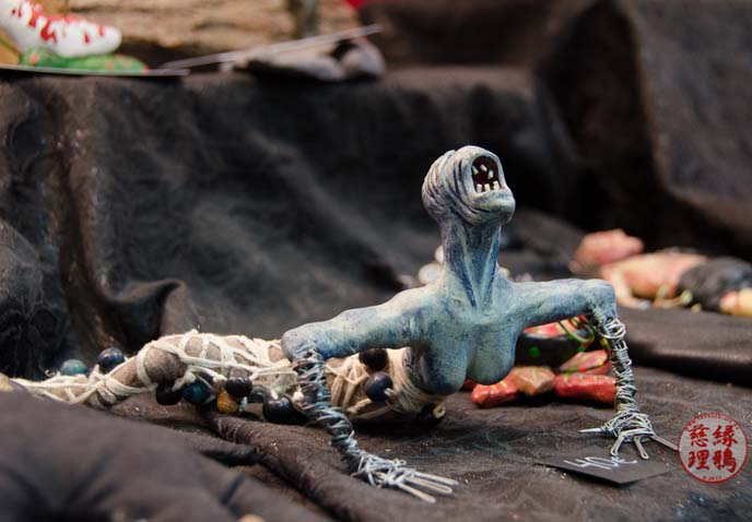 horror figurines, monsters