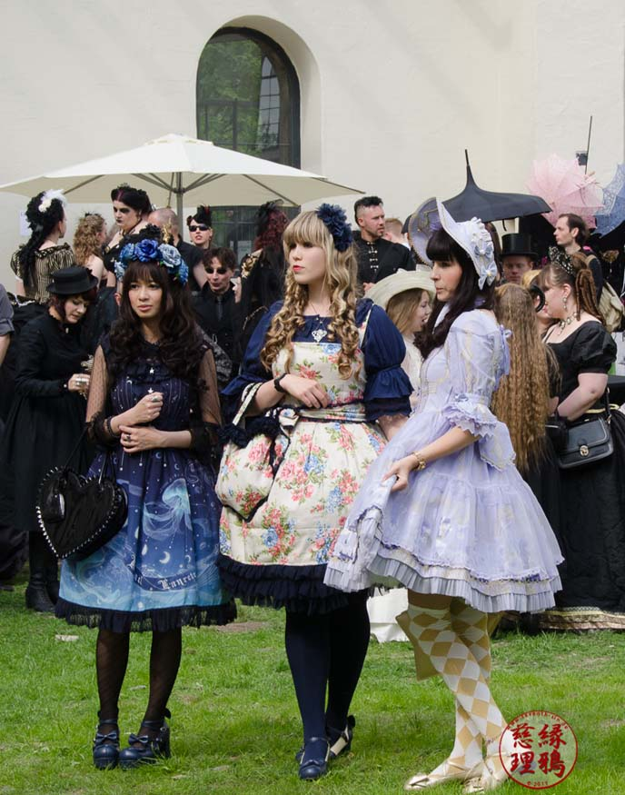 german gothic lolitas, lolita meetup