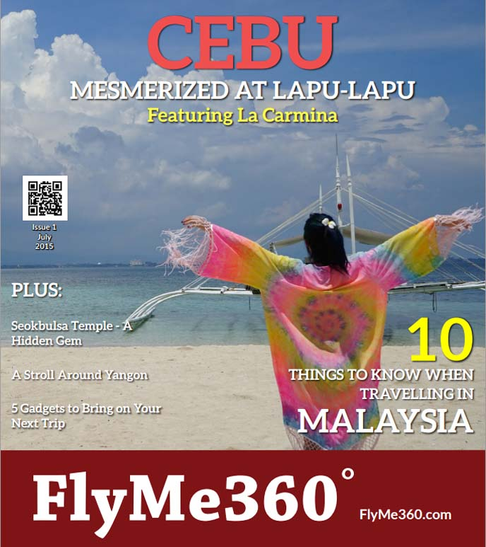 travel magazine cover, flyme360
