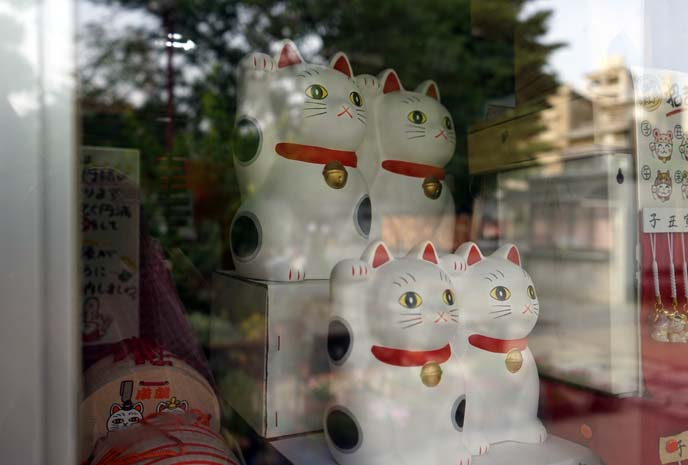 imado shrine cat gifts shop