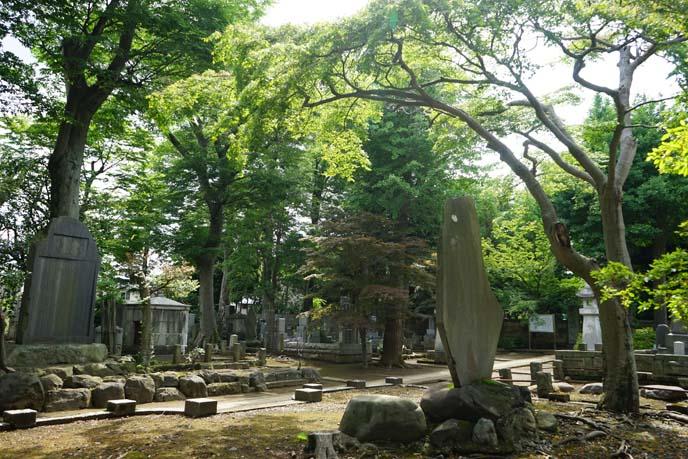 Ii Naosuke grave, burial ground