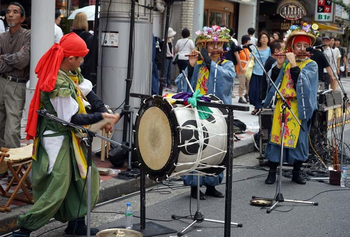 tokyo matsuri band, instruments