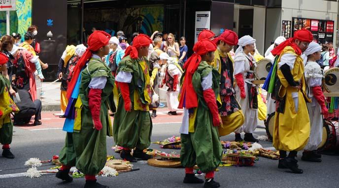 japanese festival musicians