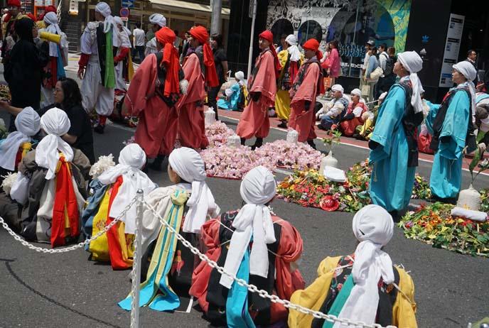 tokyo drum band, costumes