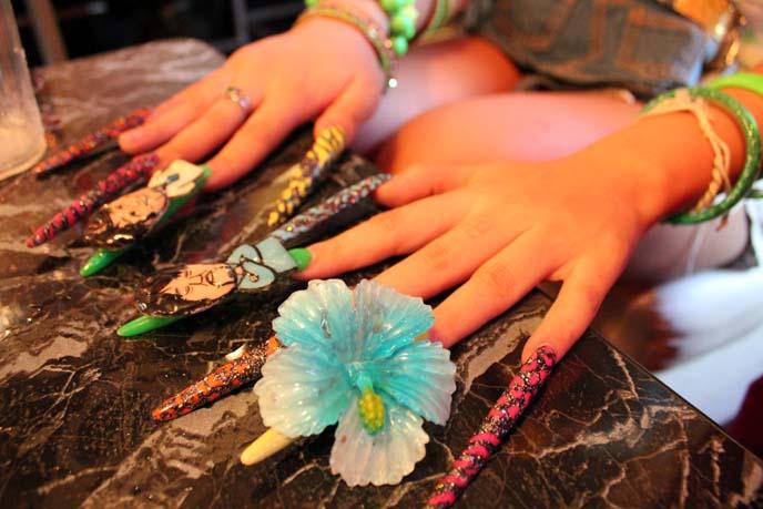 gyaru tokyo nail art