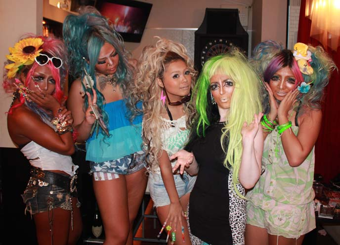 black diamond ganguro gals