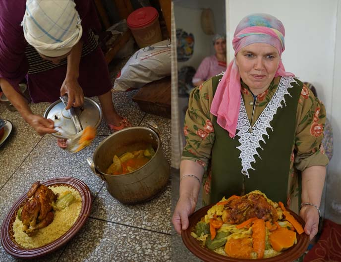 couscous cooking lesson morocco