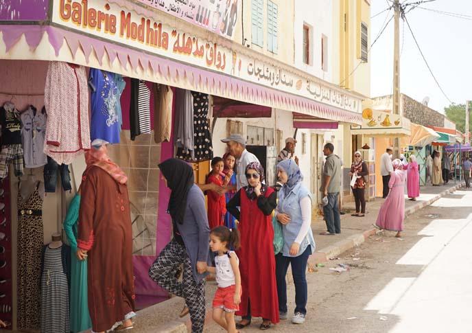 women shopping in morocco