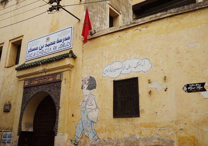 street art morocco, murals