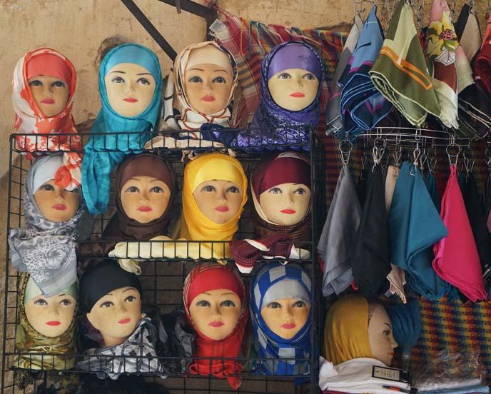 fez headscarves, scarves