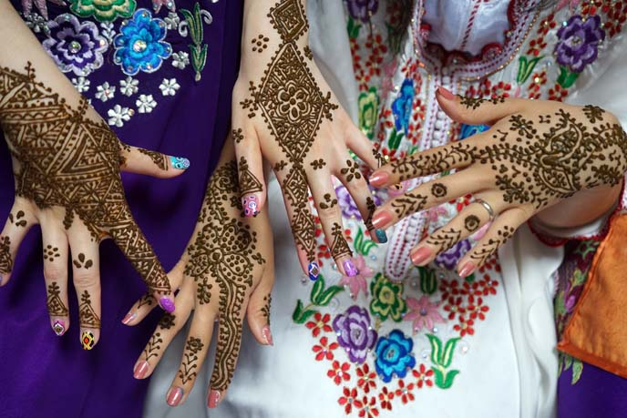 arabic henna traditional tattoos