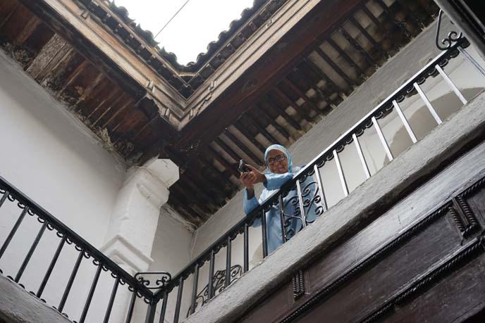 morocco balcony architecture