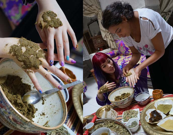 herbal paste for hands