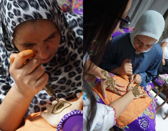 henna class, lessons
