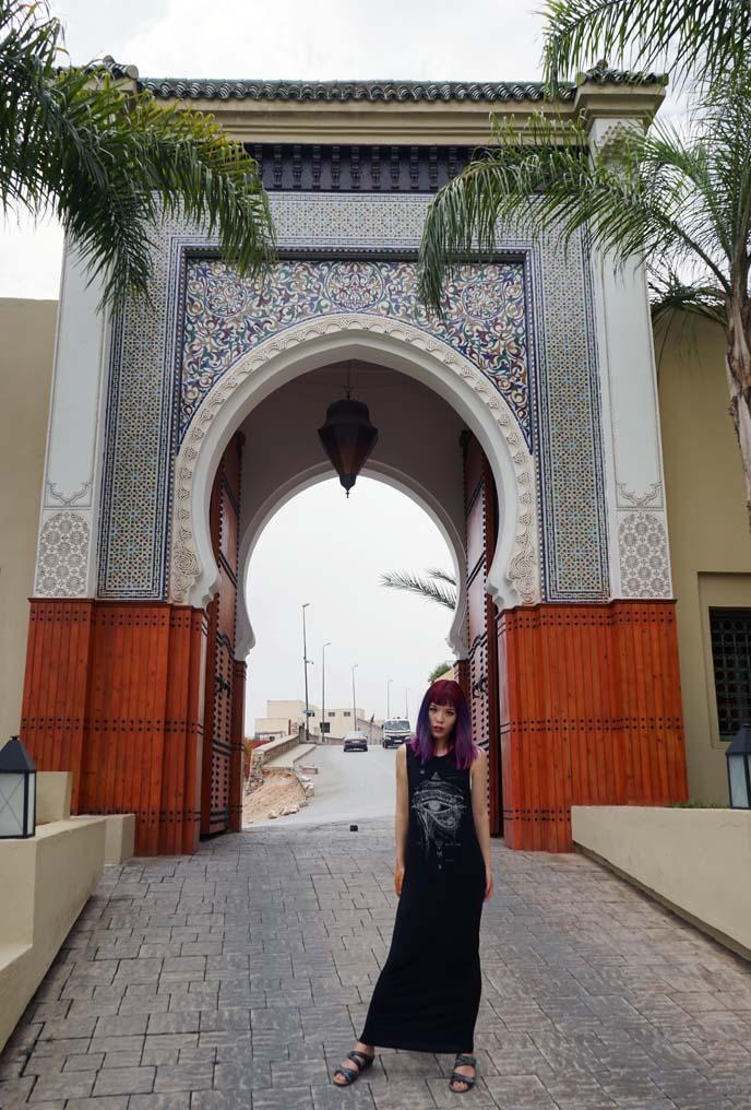 fez morocco gate architecture