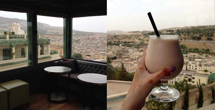 fez rooftop bar, panorama view