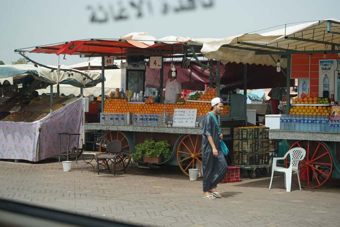 Djeema-el-fna morocco