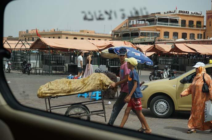 Jemaa el-Fnaa vendors