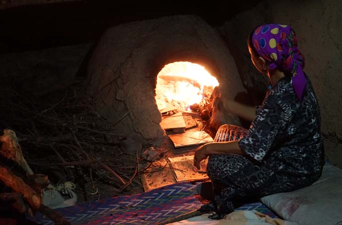 baking bread outdoor oven morocco