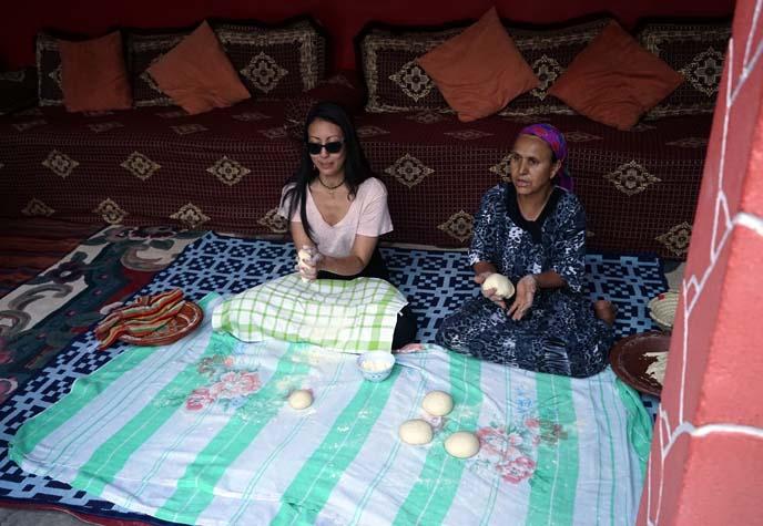 bread making class morocco
