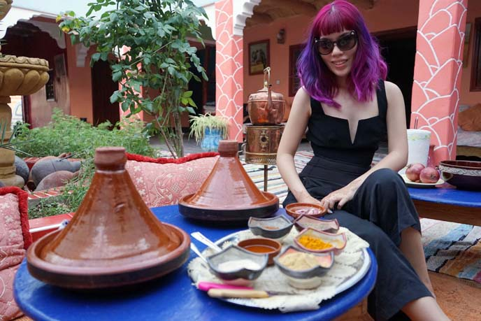 berber moroccan food cooking class