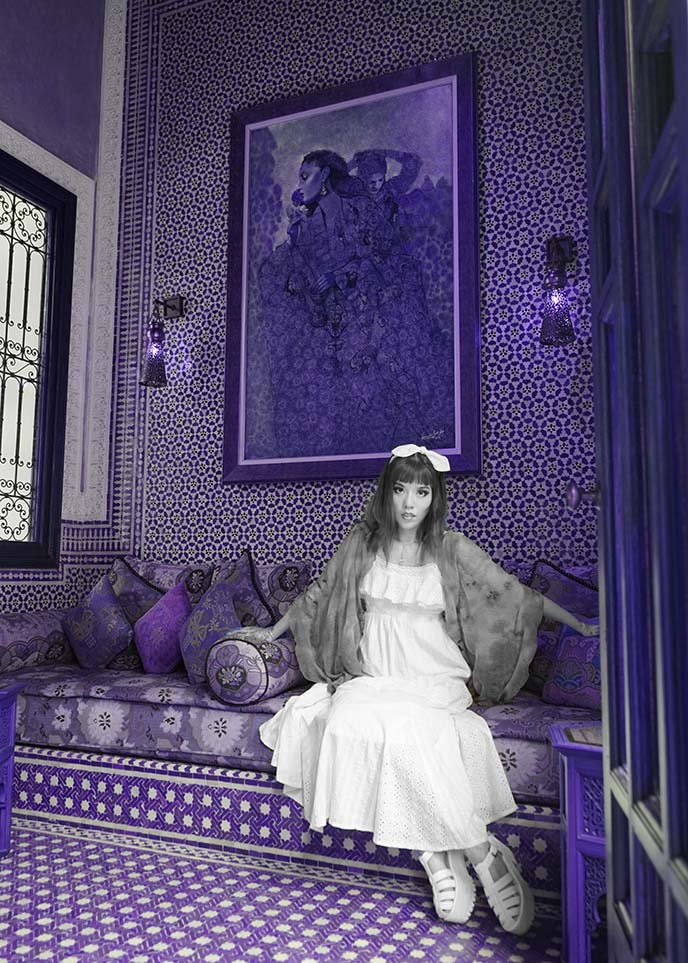 moroccan interior design, art