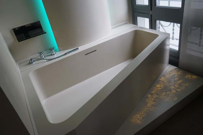 modern spanish bathtub