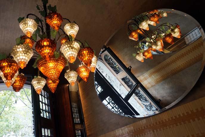 antique grape shaped lamp chandelier