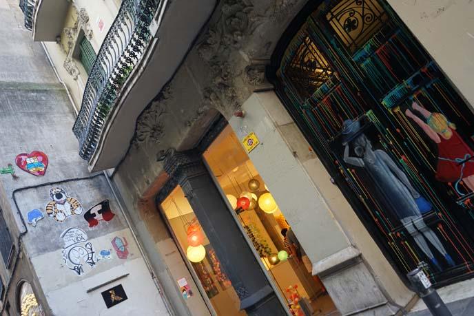 hip design art galleries barcelona
