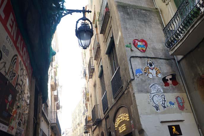 gothic quarter street art