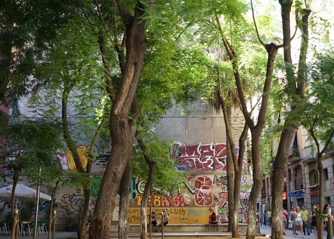 el raval park, square