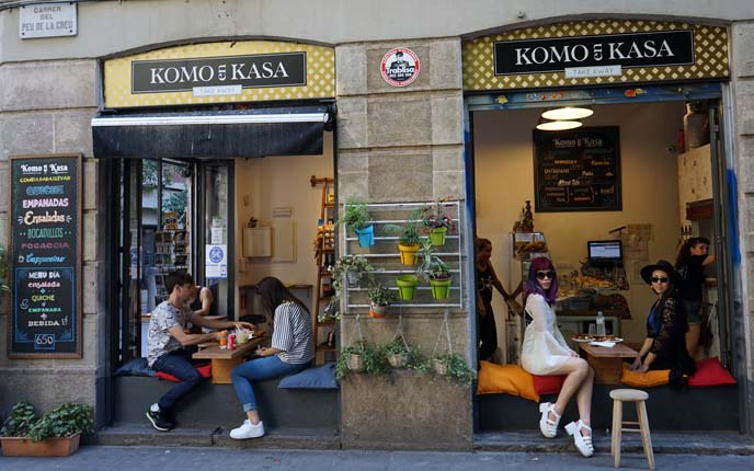 komo en kasa cafe barcelona