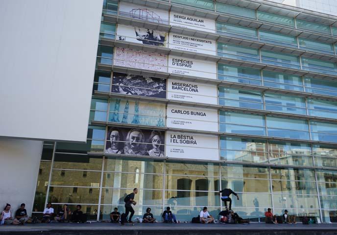cccb skateboarders, Centre De Cultura Contemporanea De Barcelona