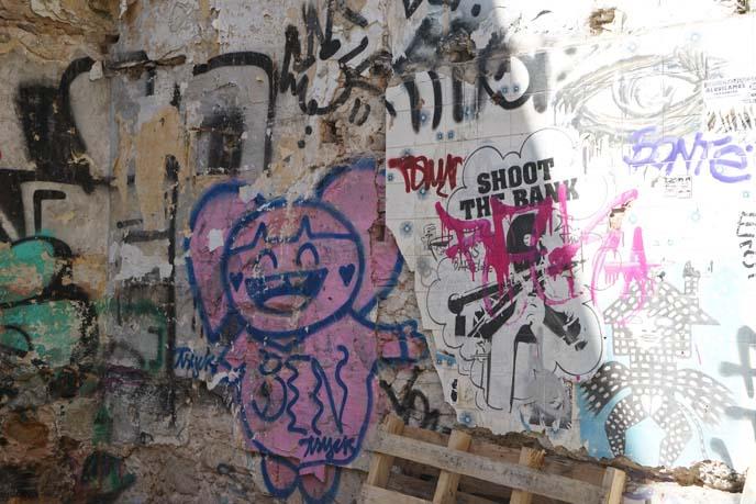 barcelona street art, graffiti