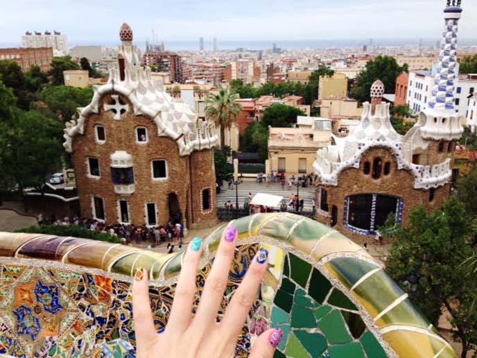 gaudi gingerbread castle, spanish modernisme