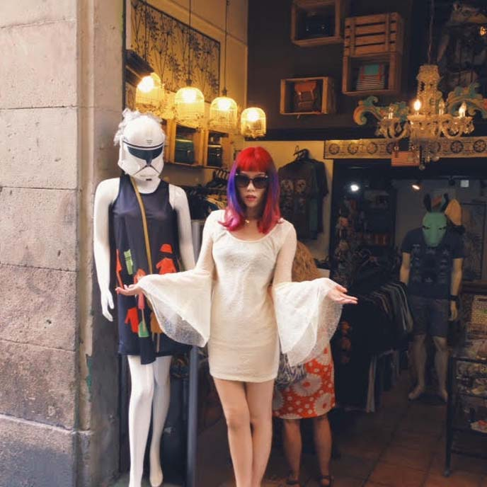 stormtroopers fashion mannequin