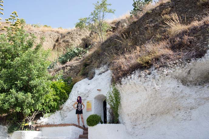 Museum of Sacromonte in Granada, gypsy caves