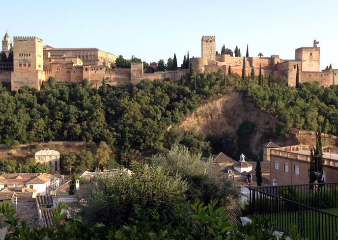alhambra castle, fortress