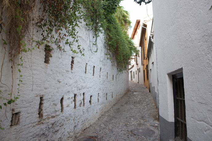 albayzin granada streets
