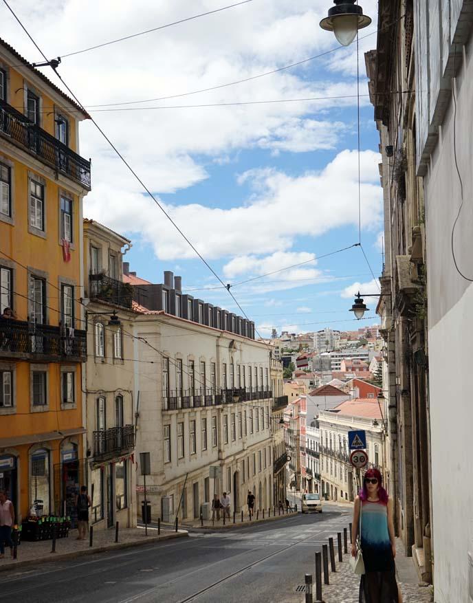 portugal street cars, Bairro Alto